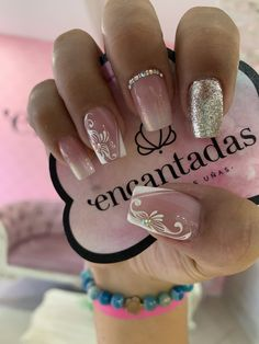 3901 Tendencias De U±as Para Explorar En 2020 - French Nail Designs, Toe Nail Designs, Drip Nails, Toe Nails, Fabulous Nails, Gorgeous Nails, Broken Nails, Brittle Nails, Gelish Nails