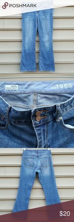 GAP 1969 PERFECT BOOT 29/8A CUT JEANS GAP PERFECT BOOT 29/8A CUT JEANS GAP 1969  Jeans Boot Cut