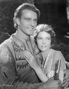 "John Wayne & Marguerite Churchill in ""The Big Trail"" (1930)"