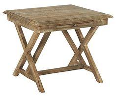 Mesa plegable de madera de pino Palma