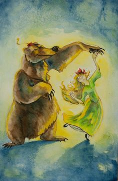 "The Bear and the Maiden Fair by Puppy Chow. ""A bear there was, A bear, A BEAR!"""