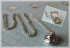 'Cupcake Locket Necklace' is going up for auction at  3pm Mon, Sep 3 with a starting bid of $10.