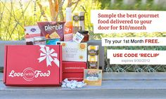 Free Box of Gourmet Food (Just $2 Shipping)