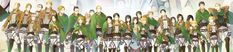 Shingeki no Kyojin Attack on Titan - Commander's team and Eren's family (by http://www.pixiv.net/member.php?id=928873)