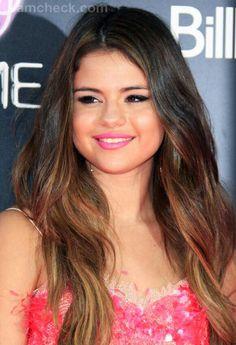 Selena gomez ombre hair