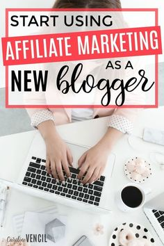 I love this! She has such great advice for new bloggers. This is really such great advice about how a new blogger can get started with affiliate marketing. Find out the best affiliate programs to join as a new blogger. Find more than 100 of the best affil