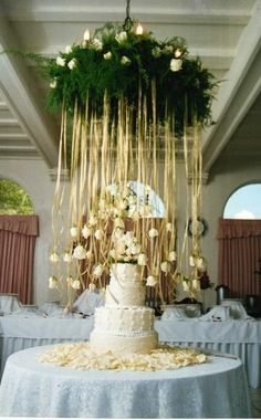 Cake Table Decor | Silverleaf Wedding Designs