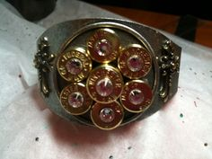 This is gun slingin' at it's finest!! The Cool Hand Luke of bullet jewelry! This cuff has it's own style...Rustic, sexy, cool with a little steampunk thrown in. And Oh so Original just the perso