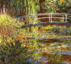 Claude Monet, The Water Lily Pond - Pink Harmony, 1900