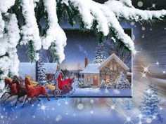 Image for Gorgeous Animated Christmas Cards Online Ideas