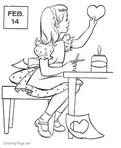 104 Best Valentine Coloring Pages Images Coloring Pages Coloring
