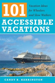 """Written by leading expert in accessible travel, this authoritative guide highlights vacation destinations for disabled travelers. Harrington organizes chapters by vacation style, allowing readers to tailor a holiday to their own specifications."" - Goodreads.com"