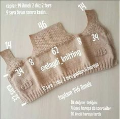 Knitted Baby Boy Sweater Making T