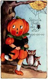 Free Vintage Halloween Graphic