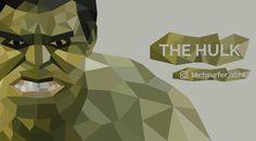 Low Poly Art of The Hulk. #techsurfer_abhi #techsurfer15 #techheap #hulk #vector #art #illustration #lowpoly