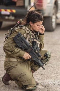 IDF (Israel Defence Forces) Captain Or Ben-Yehuda. Today perpetrators opened fire from 3 locations including a car driving along the border. The IDF responded and killed at least three of the attackers. Captain Ben-Yehuda and another soldier were injured. Military Women, Military Police, Idf Women, Warrior Girl, Female Soldier, Special Forces, Armed Forces, Pinup, Photo Today