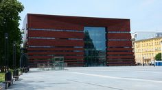 https://flic.kr/p/uXXU5w   National Forum of Music   Category: culture  Location: Wroclaw, Poland  Built: 2009-2015  Seats: 1800