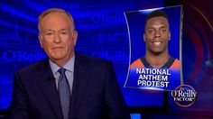 """""""To be fair, bad things do happen in this country ... and they must be confronted. But to disrespect our entire system, when you have reaped so much benefit from it, is fallacious in the extreme.""""  Bill O'Reilly responded to Denver Broncos player Brandon Marshall kneeling during the national anthem."""