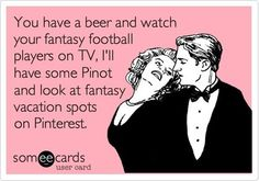 Football widows will totally get this...!