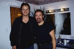 Bruce Springsteen and Tim Robbins
