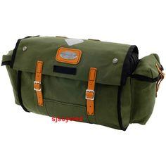 Carradice Carradice Nelson Longflap Saddlebag - Green with Honey Straps - 18Ltr