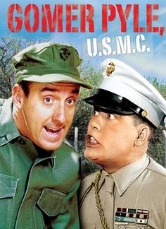 Gomer Pyle, one of my favorite Characters on the Andy Griffith Show and of course the Gomer Pyle show.