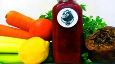 Try Swami Juice - 13 different cold pressed recipes! This is CAROTENE CRUSH; Carrot, celery, tomato, spinach, lemon, beet, parsley, garlic, cayenne #juicelife #swamirevolution #coldpressedjuice #bocaraton #bocacoldpressedjuice #local #natural #nutritious