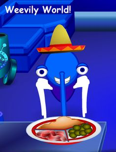 If you'd like a plate of tapas for your Bin Weevil the code is RIGG4F  For more great Bin Weevils codes visit Weevily World! http://weevilyworld.wordpress.com/