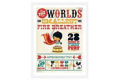 Fire Breather by Andrew Bannecker $149.00 on OneKingsLane.com