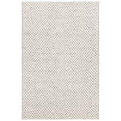 Chandra Ira Hand-Woven White Area Rug Rug Size: 5' x 7'6''
