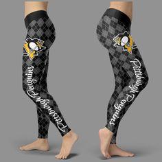 Cosy Seamless Border Wonderful Pittsburgh Penguins Leggings – Best Funny Store