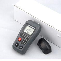 Emt01 Digital Lcd Wood Moisture Meter Humidity Tester Timber Detector Tester Usa