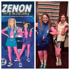 DIY Zenon Halloween costume