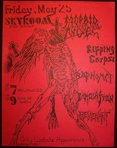 GigPosters.com - Morbid Angel - Ripping Corpse - Baphomet - Immolation - Revenant