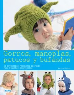 """Cover of """"Gorros, manoplas, patucos y bufandas"""""""