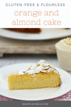 Perfectly moist and delicious this Gluten-Free Flourless Orange and Almond Cake ticks all the boxes. Serve with vanilla bean infused double cream for an indulgent treat. Gluten Free Cakes, Gluten Free Desserts, Delicious Desserts, Yummy Food, Almond Recipes, Baking Recipes, Cake Recipes, Dessert Recipes, Orange Recipes