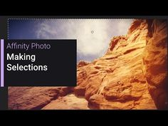 Affinity Photo is the fastest, smoothest, most precise image editing software for Mac! Photography Software, Photography And Videography, Photoshop Tutorials Youtube, Video Tutorials, Affinity Photo Tutorial, Photo Tips, Photo And Video, Affinity Designer, Image Editing