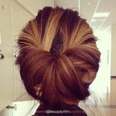 updos for medium length hair | 2014 Updo Hairstyles: Simple updos for medium length hair