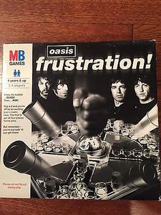 OASIS - Frustration 2006 Promo Board Game, NEW