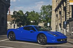 blue Spider by Daviel Stosca, via Flickr