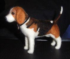 Needle Felted Beagle   Flickr - Photo Sharing!