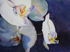 Orchid II Painting  - Orchid II Fine Art Print