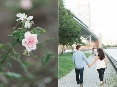 As they approached the James Madison house, tucked into a small street in Old City,  you could see the moment of excitement and truly dreams fulfilled.  Alli and Chris met while studying at James M…