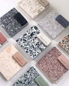 The possibilities. A lovely arrangement by with good friends and our Nood Co sample pack collection. Bathroom Inspiration, Interior Design Inspiration, Bathroom Interior Design, Interior Decorating, Terrazzo Tile, Tile Design, Cheap Home Decor, Decor Styles, House Design