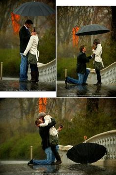 I would want someone to be there with a camera for my proposal