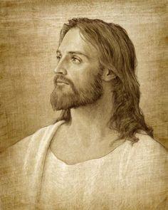 """Christ Portrait"" - art by Joseph Brickey"