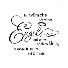 Wall Decals-I-wuensche-you-a-angel-web-single - Healthy Lifestyle Tips Angel Quotes, Angel Sayings, German Quotes, German Words, Birthday Pictures, Christmas Quotes, Words Quotes, Decir No, Hand Lettering