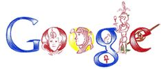 April 3, 2009 Doodle 4 Google 2009 - Egypt by Sameh Fadel