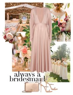 """bridesmaid"" by youarenotwelcome ❤ liked on Polyvore featuring Valentino, Giuseppe Zanotti and Tory Burch"