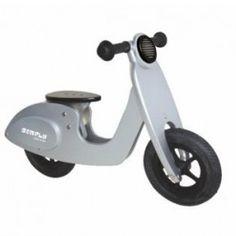 Nieuw dit voor jaar in de serie 2-wieler-fietsen: Oogverblindend is deze bijna echte scooter. Stoer, chique, snel en stevig!
